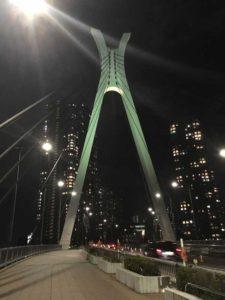 夜のハープ橋