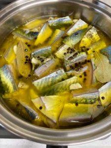 鯖のオイル煮